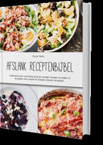 Gewicht verliezen met de receptenbijbel
