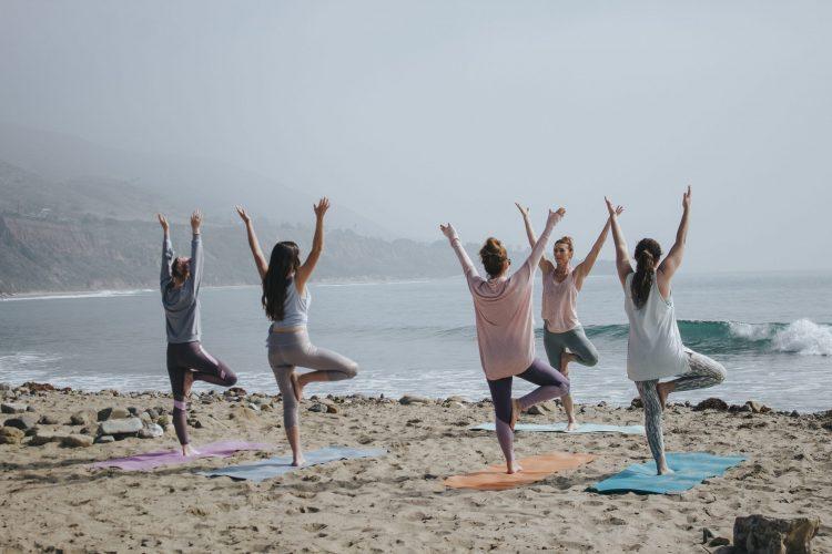 Yoga in een groep
